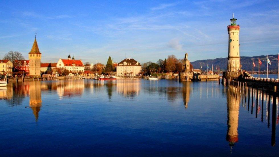 Rujansko jutro na Bodenskome jezeru