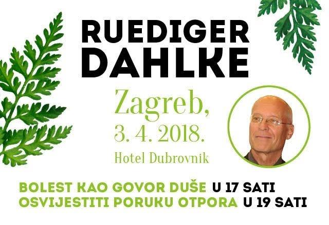 Predavanje Ruedigera Dahlkea u Zagrebu!