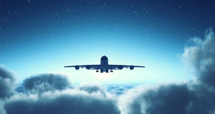U zrakoplovu