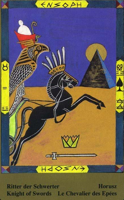 Male arkane u kombinaciji s drugim kartama - VITEZ MAČEVA