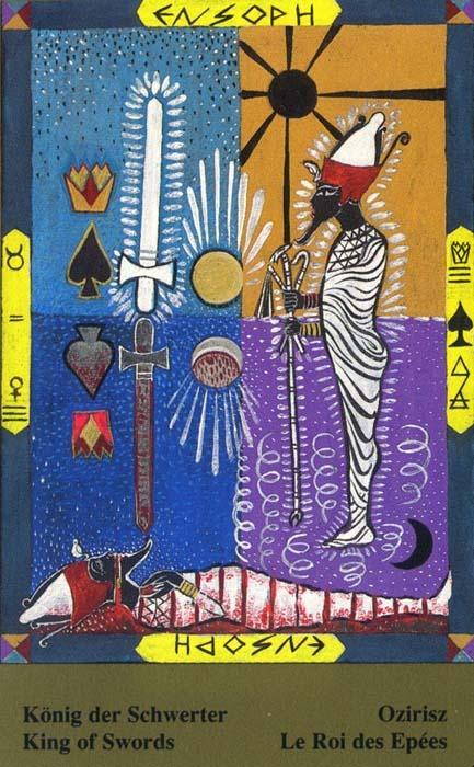 Male arkane u kombinaciji s drugim kartama - KRALJ MAČEVA