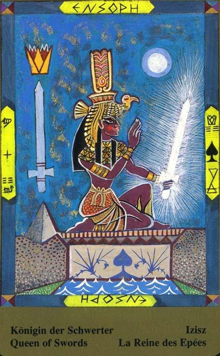 Male arkane u kombinaciji s drugim kartama - KRALJICA MAČEVA
