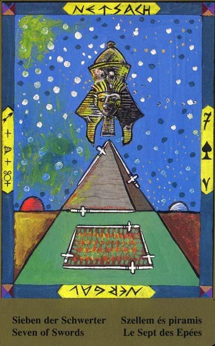 Male arkane u kombinaciji s drugim kartama - SEDMICA MAČEVA