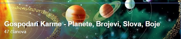 Gospodari Karme - Planete, Brojevi, Slova, Boje,.. (sve na jednom mjestu)