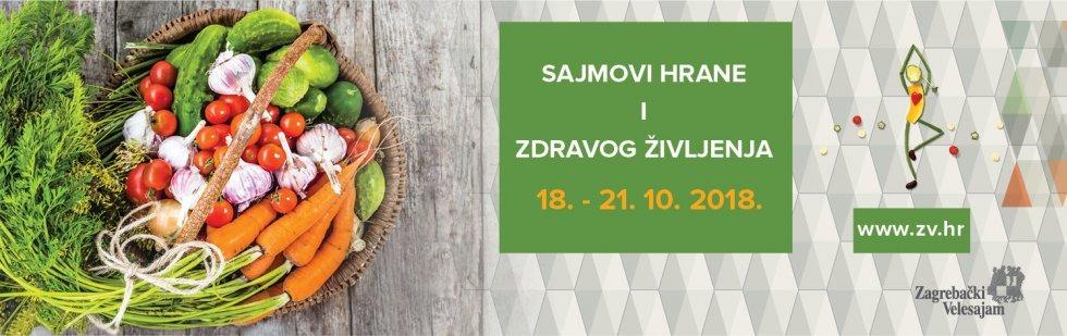 Sajmovi hrane i zdravog življenja 2018 - rok za slanje prijava