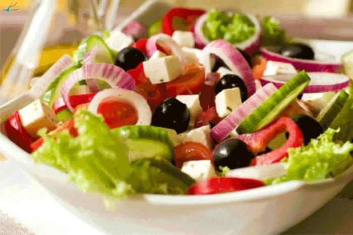 Par recepata salata za ljeto