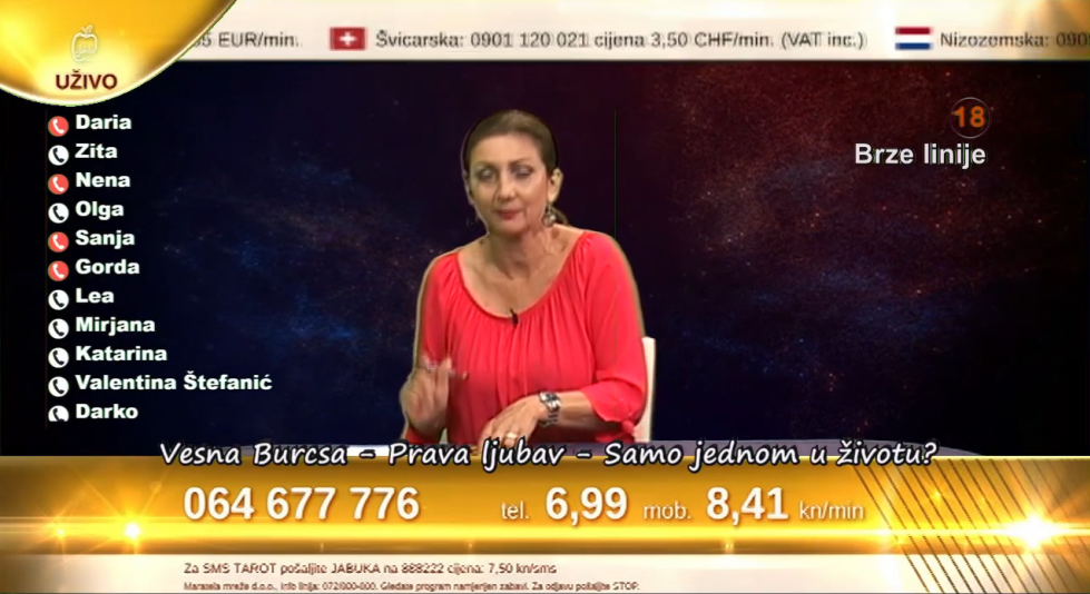 TV Jabuka - live stream....