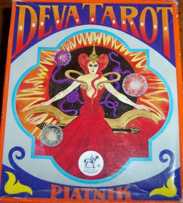 Deva Tarot - dodani Triax, kao prst Sudbine