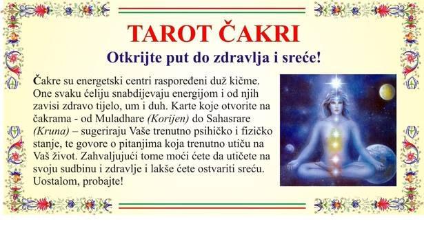 SEDAM ČAKRI - i - TAROT (za psihičko i fizičko stanje tijela)