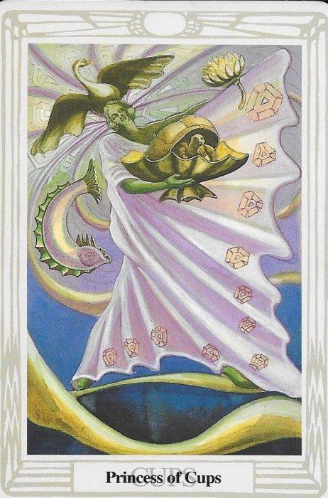 TAROT- RAZINE SVIJESTI - Princeza pehara