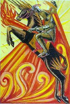 TAROT- RAZINE SVIJESTI - Kralj štapova