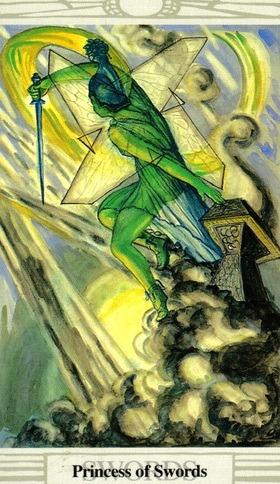 TAROT- RAZINE SVIJESTI - Princeza mačeva