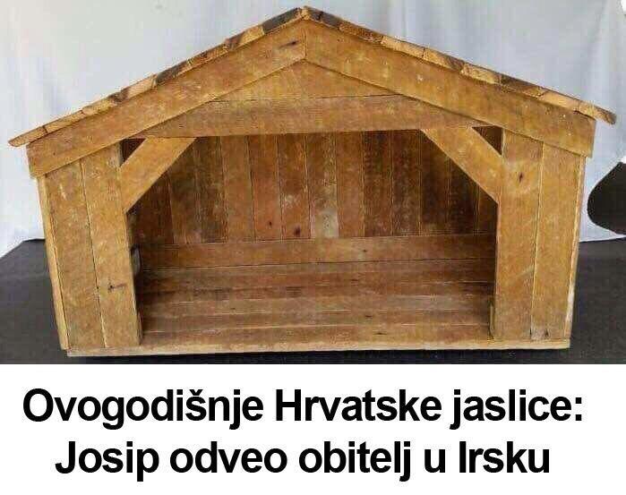 Ovogodišnje hrvatske jaslice