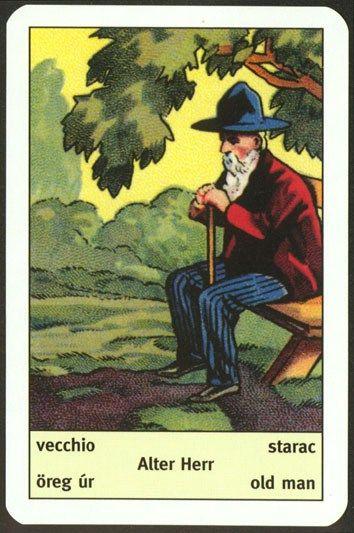 Ciganske karte - Starac