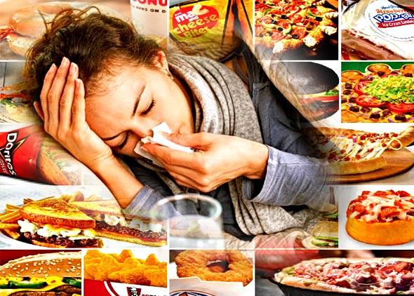 Neprobavljiva hrana i bolest