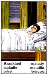 Ciganske karte - Bolest