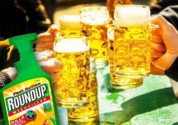 Popularni Monsantov zloglasni kancerogeni ubojica korova pronađen u popularnim brandovima piva i vina