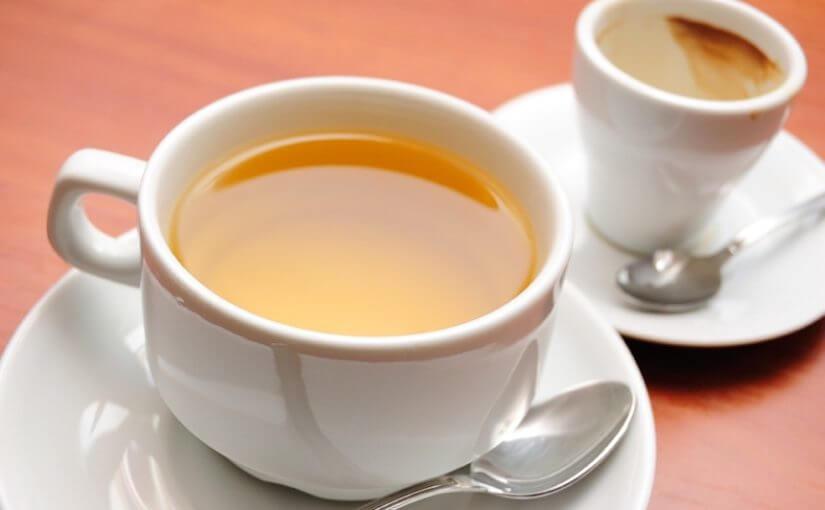 Čaj, a ne kava