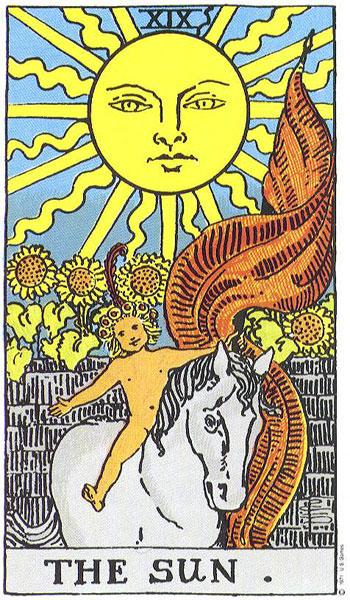 Tarot - Sunce
