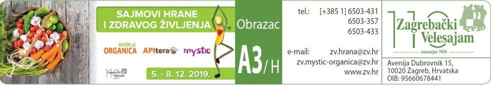 Sajmovi hrane i zdravog življenja 2019 - Podaci Za Unos u Katalog