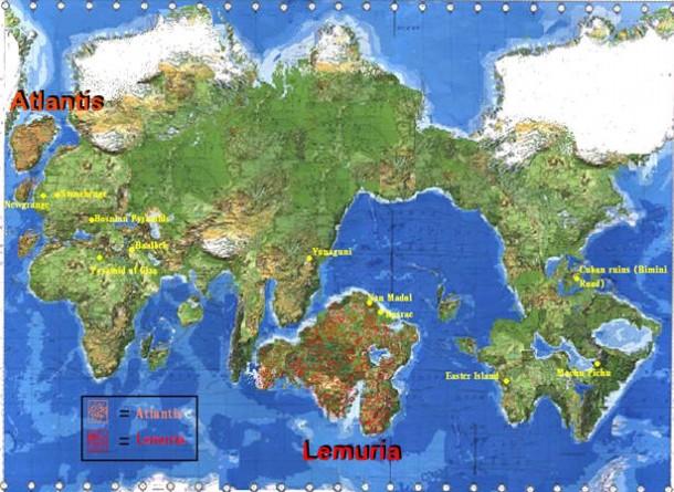 Atlantida i Lemurija