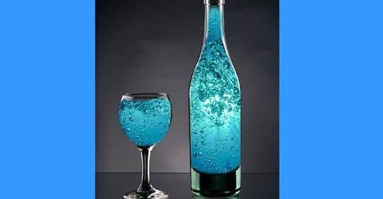 Kako napraviti plavu solarnu vodu – Pijte ove vode što više možete!