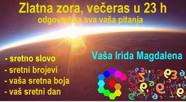 Zlatna zora, večeras u 23h: Sretno slovo, sretni brojevi, sretna boja i vaš sretni dan + KLJUČ vašeg jesenskog uspjeha