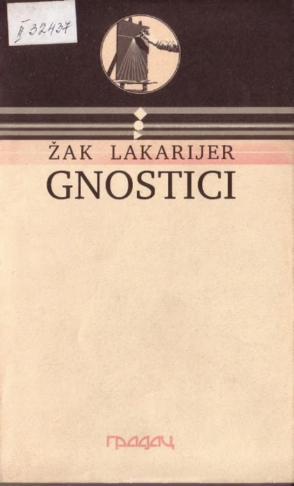 GNOSTICI - Zak Lakarijer