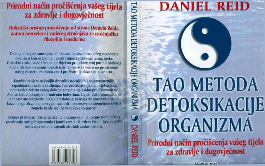 Daniel Reid - Tao metoda  detoksikacije organizma