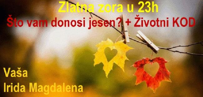 Zlatna zora u 23h: Što vam donosi jesen? + Anđeoske poruke