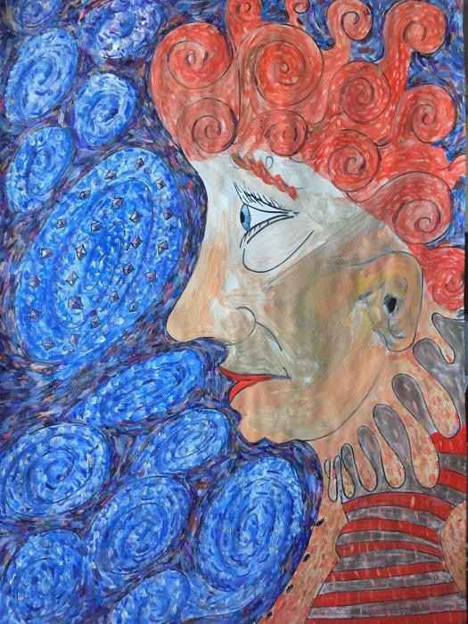 Pozivnica za otvorenje izložbe umjetnika Ati Salvara