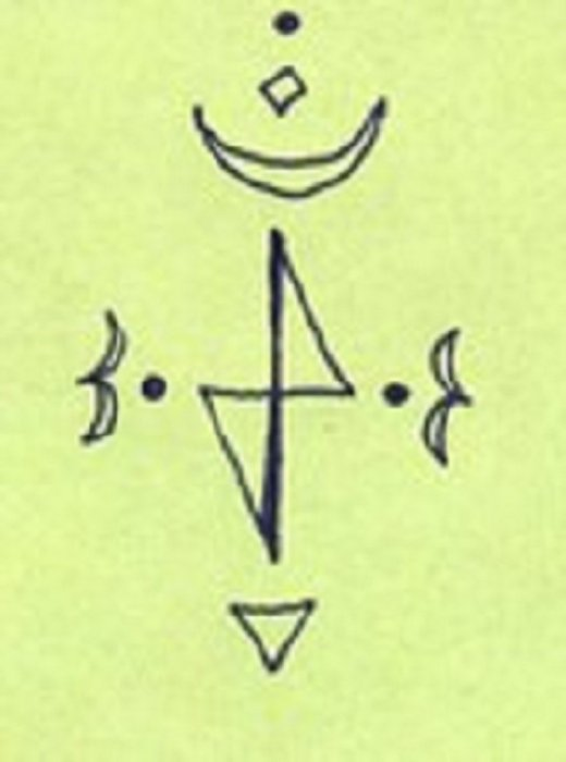 Vilinski simbol: HAT ALMAG ELAND - Otklanjanje negativnih i štetnih energija