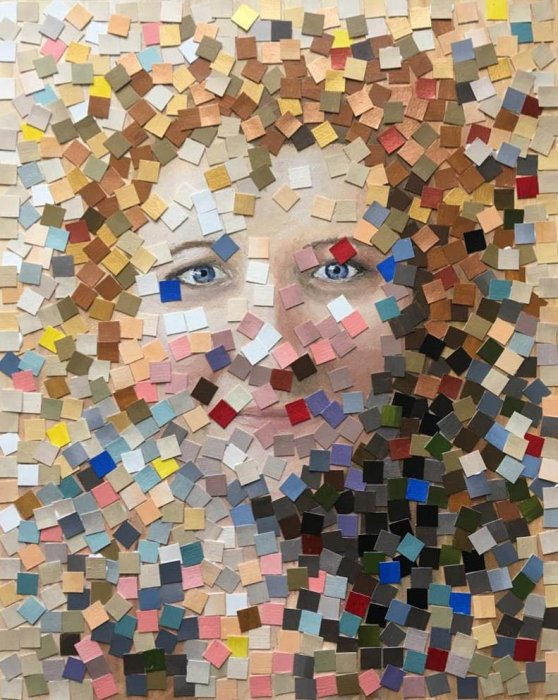 Pozivnica za otvorenje izložbe: Portret - autoportret - transformacija identiteta