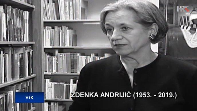 Preminula pjesnikinja i prevoditeljica Zdenka Andrijić