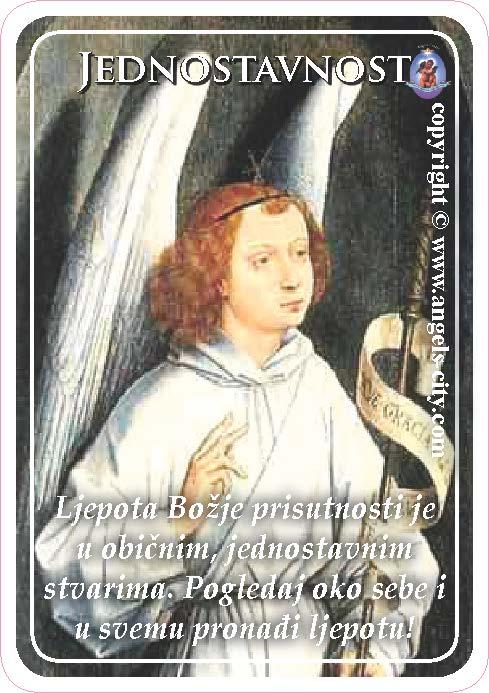Anđeoski vodič: Anđeoske kartice - Jednostavnost