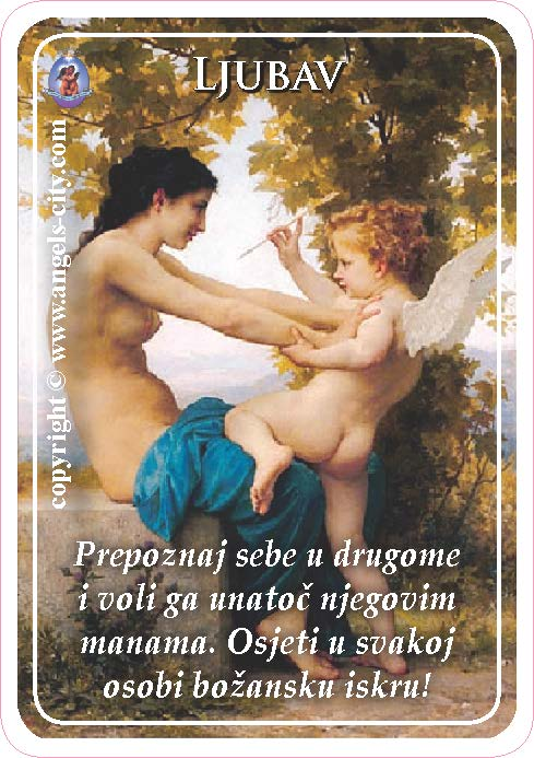Anđeoski vodič: Anđeoske kartice - Ljubav