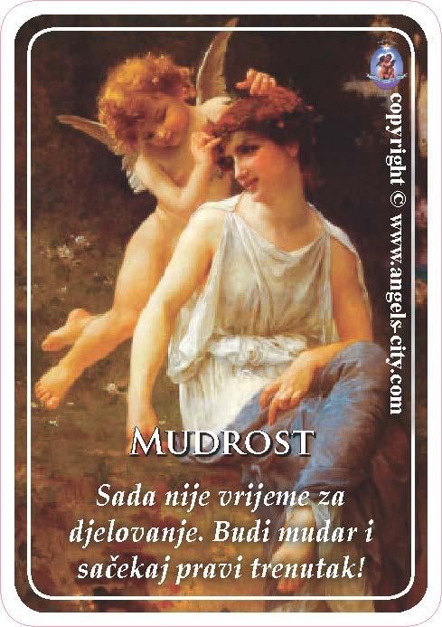 Anđeoski vodič: Anđeoske kartice - Mudrost