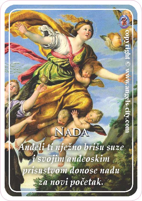 Anđeoski vodič: Anđeoske kartice - Nada