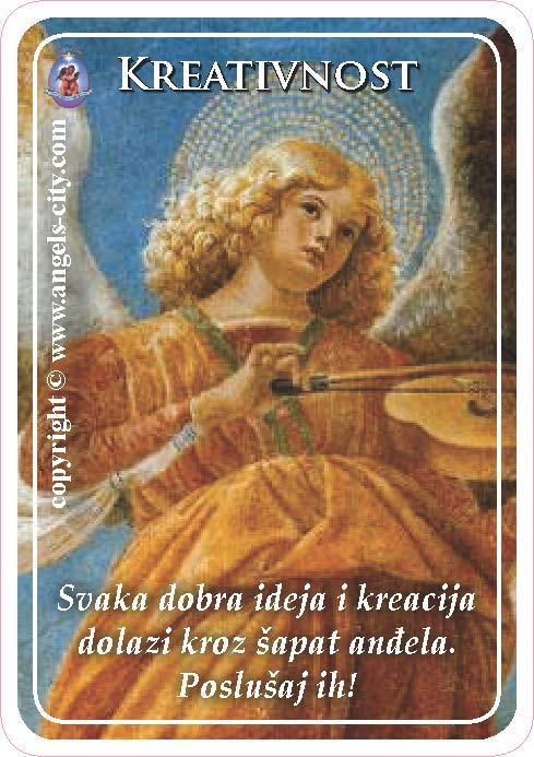 Anđeoski vodič: Anđeoske kartice - Kreativnost