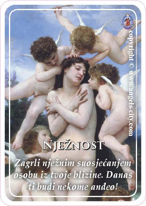 Anđeoski vodič: Anđeoske kartice - Nježnost