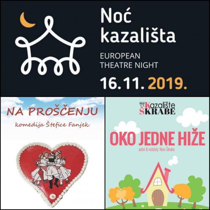 Kazalište Škrabe za Noć kazališta u Zelini!