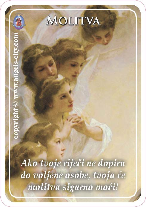 Anđeoski vodič - Molitva uz karticu