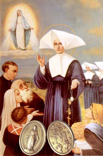 Svetac dana – Sveta Katarina Labouré