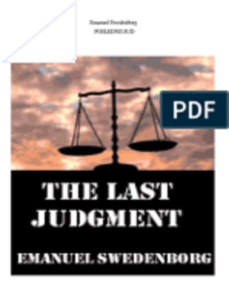 Emanuel Swedenborg - Poslednji sud