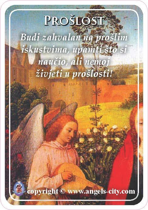 Anđeoski vodič: Anđeoske kartice - Prošlost