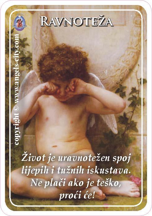 Anđeoski vodič: Anđeoske kartice - Ravnoteža