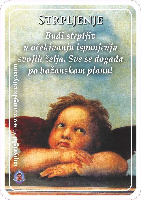 Anđeoski vodič: Anđeoske kartice - Strpljenje