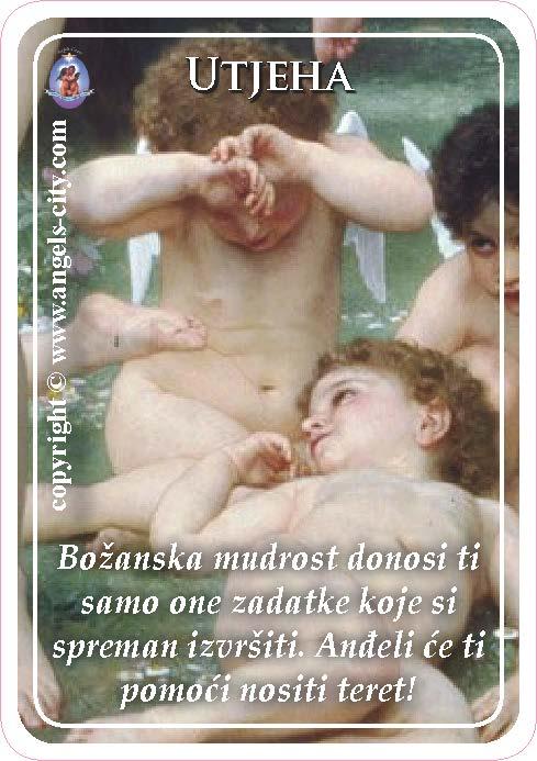 Anđeoski vodič: Anđeoske kartice - Utjeha