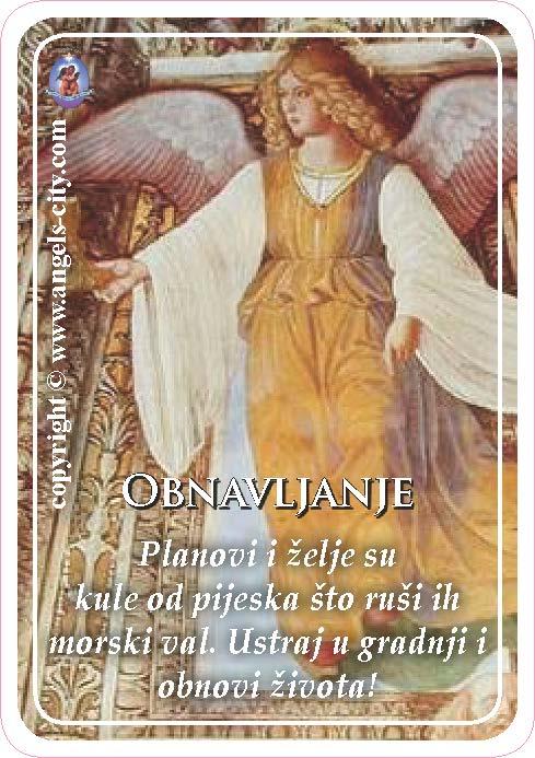 Anđeoski vodič: Anđeoske kartice - Obnavljanje