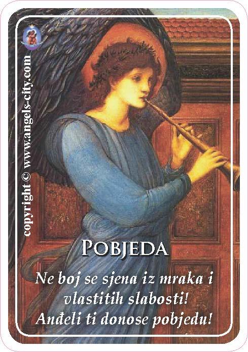Anđeoski vodič: Anđeoske kartice - Pobjeda